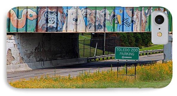 Zoo Mural IPhone Case