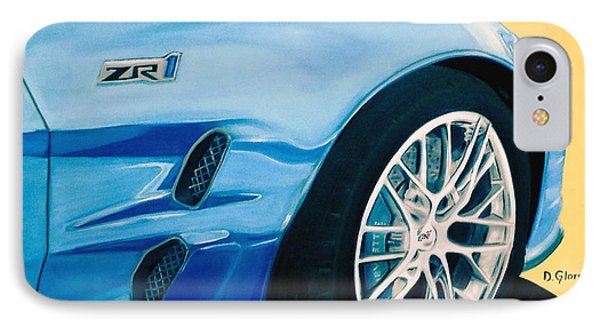 Zr1 Go Faster IPhone Case