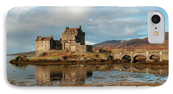 Castle iPhone 8 Case - Eilean Donan Castle by Smart Aviation