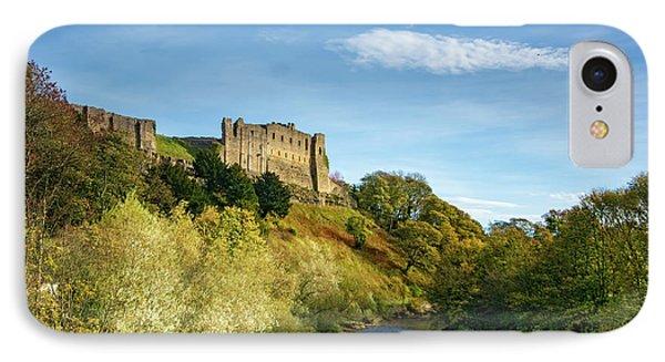 Castle iPhone 8 Case - Richmond Castle by Smart Aviation