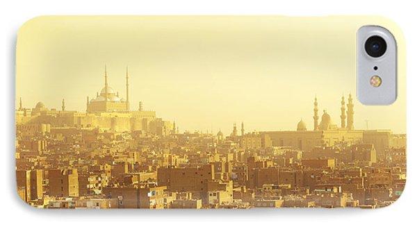 Egyptian iPhone 8 Case - Arabian City In Yellow Gamma. Cairo by Dudarev Mikhail