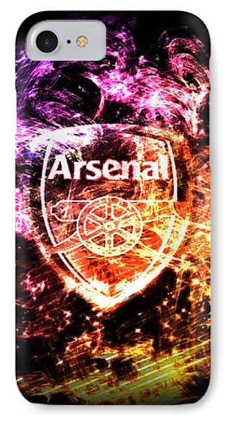 Arsenal Fc Iphone 8 Cases Fine Art America