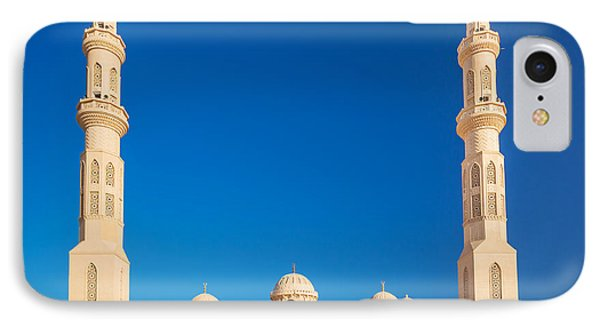 Egyptian iPhone 8 Case - Beautiful Architecture Of Mosque In by Patryk Kosmider