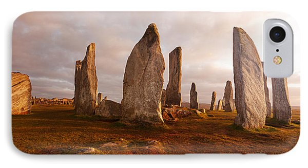 Scotland iPhone 8 Case - Callanish Standing Stones Neolithic by Unknown1861