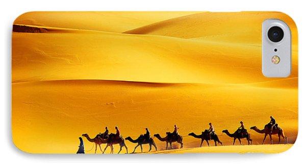 Egyptian iPhone 8 Case - Desert Caravan by Mikadun