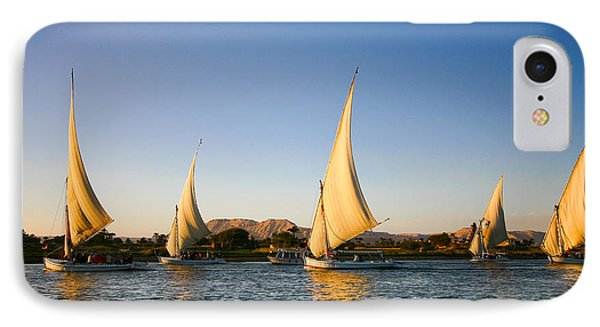 Egyptian iPhone 8 Case - Felucca On The Nile River by Jeffrey Liao
