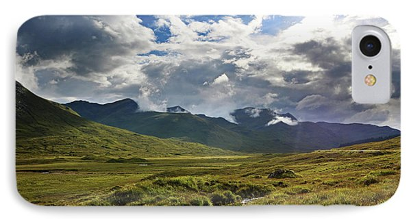 Scotland iPhone 8 Case - Highlands Afternoon by Jerry LoFaro