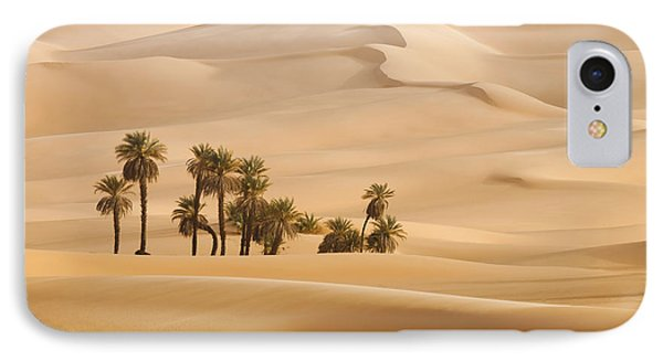 Egyptian iPhone 8 Case - Huge Dunes Of The Desert. Fine Place by Denis Burdin