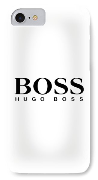 hugo boss phone case iphone 8