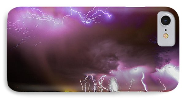 Nebraskasc iPhone 8 Case - Just A Few Bolts 001 by NebraskaSC