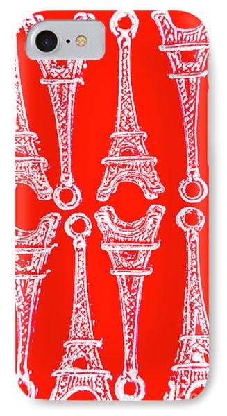 French iPhone 8 Case - Match Made In Paris by Jorgo Photography - Wall Art Gallery