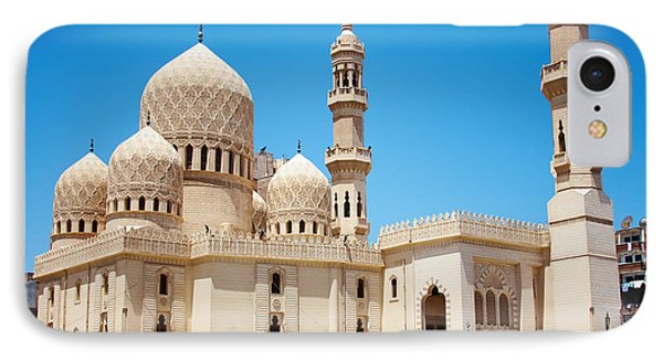 Africa iPhone 8 Case - Mosque Of Abu Abbas Al Mursi In by Certe