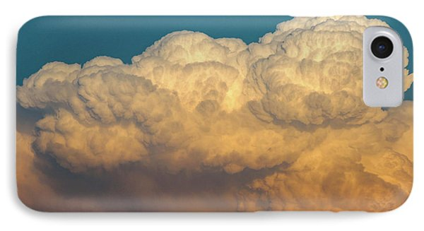 Nebraskasc iPhone 8 Case - Nebraska Sunset Thunderheads 053 by NebraskaSC