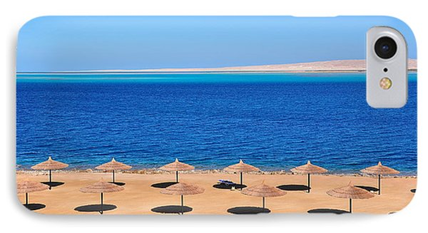 Egyptian iPhone 8 Case - Parasols At Red Sea,hurghada by Mu Yee Ting
