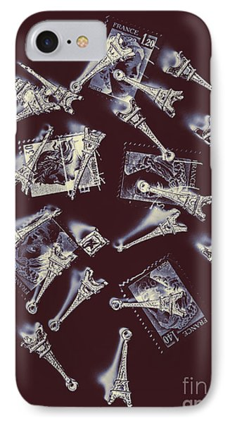 French iPhone 8 Case - Paris Post by Jorgo Photography - Wall Art Gallery
