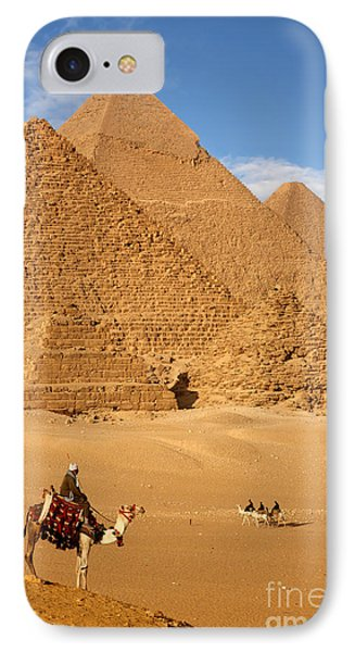 Africa iPhone 8 Case - Pyramid Egypt by Sculpies