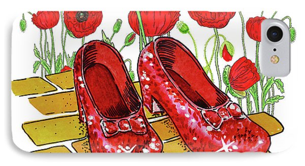 iphone 8 case ruby slippers
