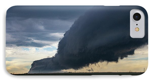 Nebraskasc iPhone 8 Case - September Thunderstorms 003 by NebraskaSC