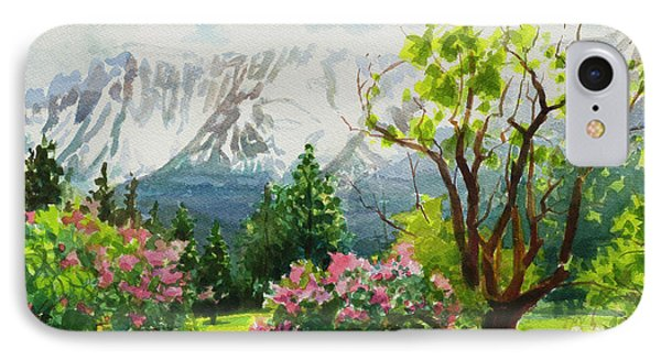 Beauty In Nature iPhone 8 Case - Spring In The Wallowas by Steve Henderson