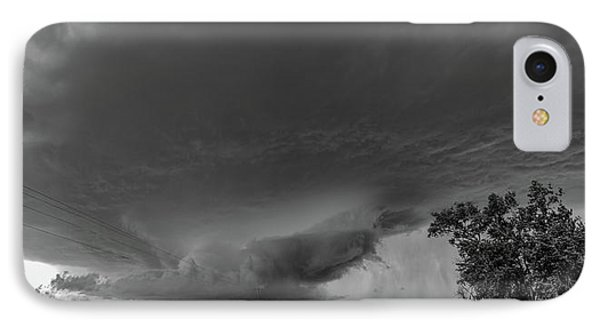 Nebraskasc iPhone 8 Case - Storm Chasin In Nader Alley 007 by NebraskaSC