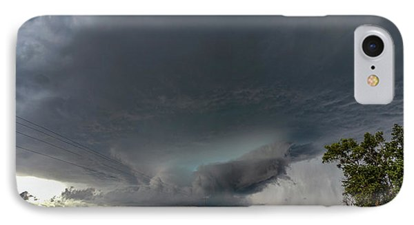 Nebraskasc iPhone 8 Case - Storm Chasin In Nader Alley 008 by NebraskaSC