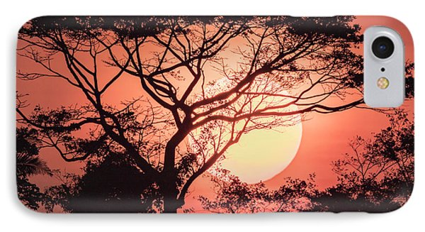 Belize iPhone 8 Case - Sunrise, Coastal Highway, Belize by William Sutton