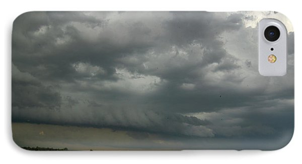 Nebraskasc iPhone 8 Case - Supercells In Nebraska 049 by NebraskaSC