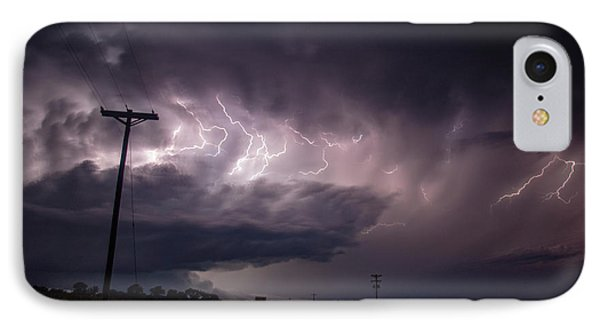 Nebraskasc iPhone 8 Case - The Best Supercell Of The Summer 040 by NebraskaSC