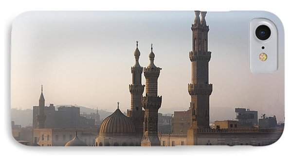 Egyptian iPhone 8 Case - The Minarets Of Cairo, Egypt by Sunsinger