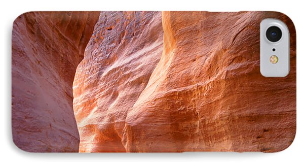 Beauty In Nature iPhone 8 Case - The Siq, The Narrow Slot-canyon That by Robert Paul Van Beets