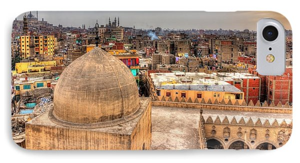 Egyptian iPhone 8 Case - View Of Cairo From Roof Of Amir by Leonid Andronov