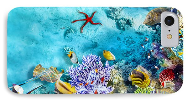 Egyptian iPhone 8 Case - Wonderful And Beautiful Underwater by V e