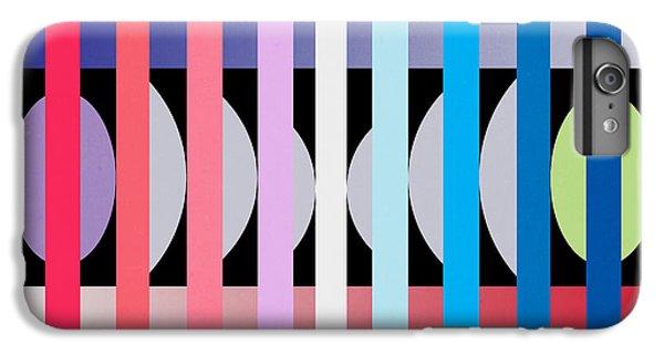 Contemporary iPhone 8 Plus Case -  Fun Geometric  by Mark Ashkenazi