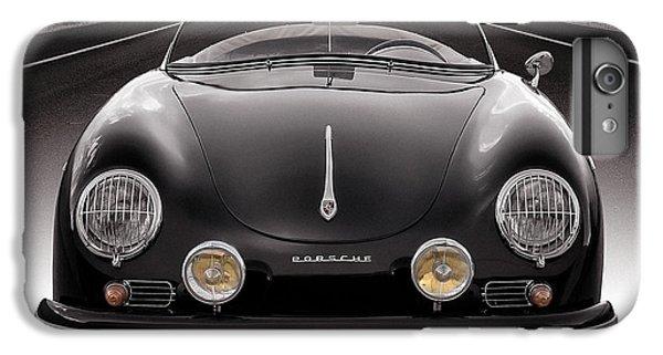 Car iPhone 8 Plus Case - Black Speedster by Douglas Pittman
