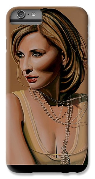 Elf iPhone 8 Plus Case - Cate Blanchett Painting  by Paul Meijering