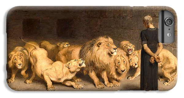 Dungeon iPhone 8 Plus Case - Daniel In The Lions' Den by Briton Riviere
