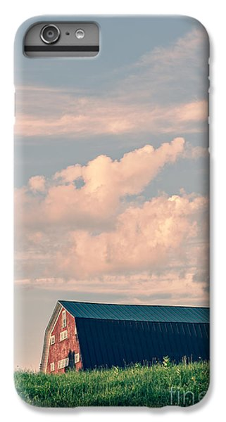 New England Barn iPhone 8 Plus Case - Day Is Done by Edward Fielding