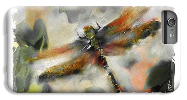 Impressionism iPhone 8 Plus Case - Dragonfly Garden by Bob Salo