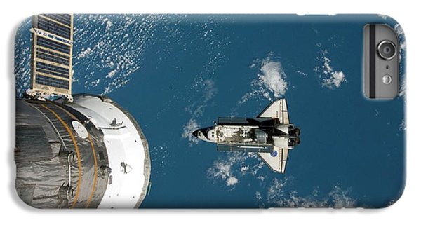 International Space Station iPhone 8 Plus Case - Endeavour Approaching The Iss by Nasa/science Photo Library