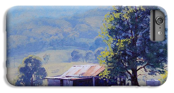 Rural Scenes iPhone 8 Plus Case - Farm Shed by Graham Gercken