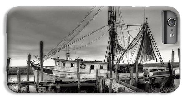 Shrimp Boats iPhone 8 Plus Case - Lowcountry Shrimp Boat by Scott Hansen