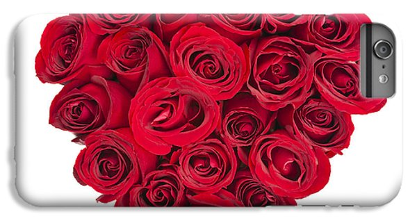 Rose iPhone 8 Plus Case - Rose Heart by Elena Elisseeva