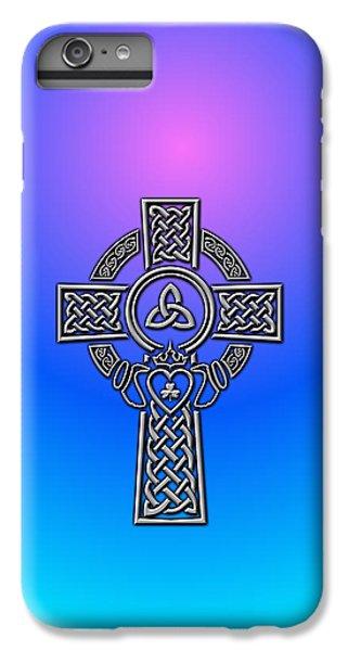 Celtic Cross iPhone 8 Plus Case - Celtic Cross by Ireland Calling