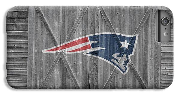 New England Barn iPhone 8 Plus Case - New England Patriots by Joe Hamilton