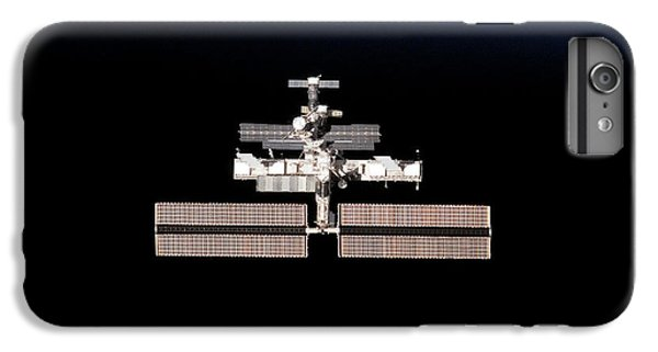 International Space Station iPhone 8 Plus Case - International Space Station by Nasa/science Photo Library