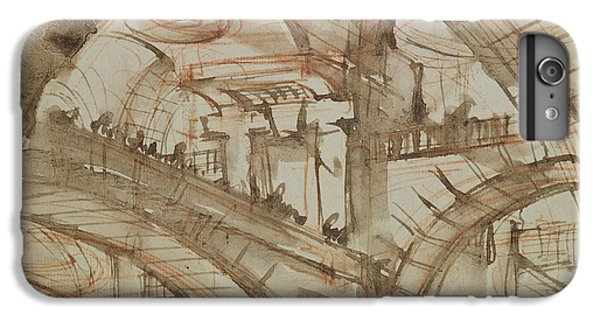 Dungeon iPhone 8 Plus Case - Drawing Of An Imaginary Prison by Giovanni Battista Piranesi