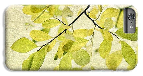 Contemporary iPhone 8 Plus Case - Green Foliage Series by Priska Wettstein
