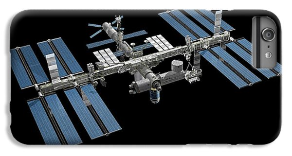 International Space Station iPhone 8 Plus Case - International Space Station by Carlos Clarivan