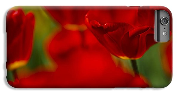 Tulip iPhone 8 Plus Case - Red And Yellow Tulips by Nailia Schwarz