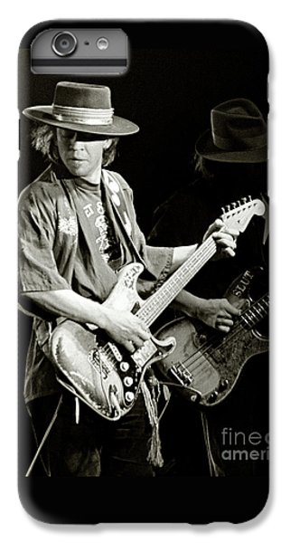 Rock And Roll iPhone 8 Plus Case - Stevie Ray Vaughan 1984 by Chuck Spang